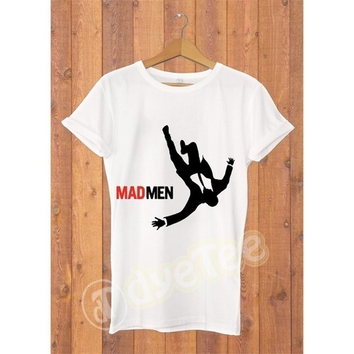 Dyetee Falling Erkek T-Shirt