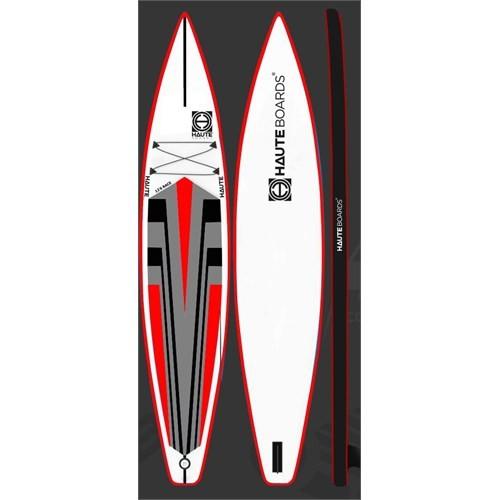 Haute Boards Race SUP ( Kürek Sörfu - Paddle Board ) Tahtası 12'6 - Ayar. Alum. Kürek