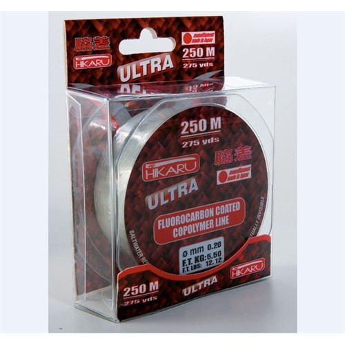 Lineaeffe Hikaru Ultra Fluoracarbon Misina 600M 0,70Mm