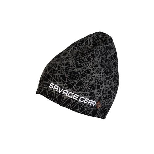 Savagear Knit Geometry Beanie Black Bere