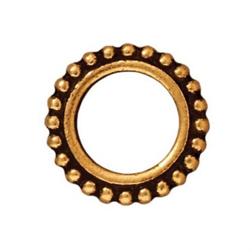 Tierra Cast 1 Adet 14.5X14.5 Mm Altın Rengi Yuvarlak Çerçeve Takı Ara Aksesuarı - 94-5657-26