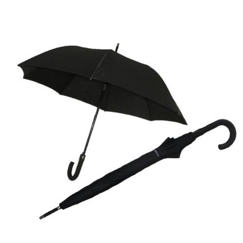Zeus & Co. Siyah Otomatik Rüzgara Dayanıklı Baston Şemsiye