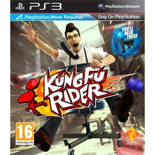 Kung Fu Rider (Move Uyumlu) PS3