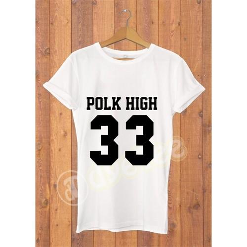 Dyetee Polk High Erkek T-Shirt