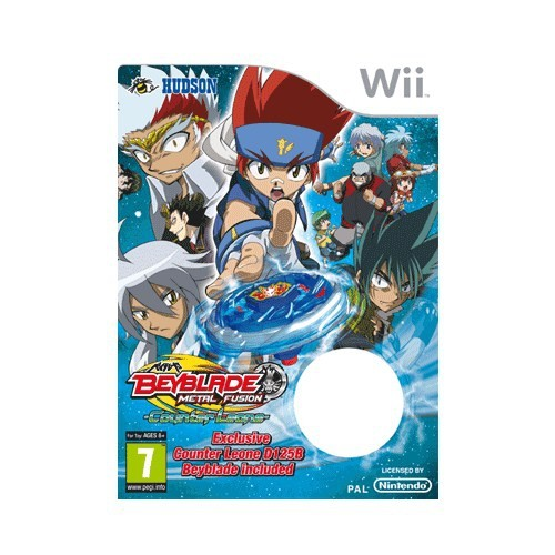 BEYBLADE METAL FUSION TOY BUNDLE WII