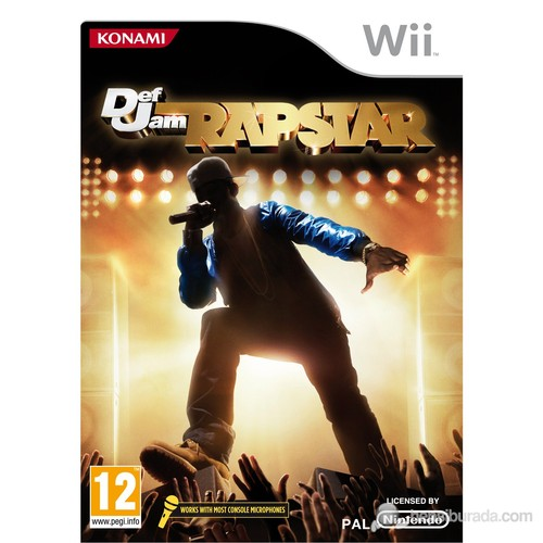 Def Jam Rapstar Bundle + Mikrofon Wii