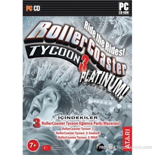 Roller Coaster Tycoon 3 Platinium PC