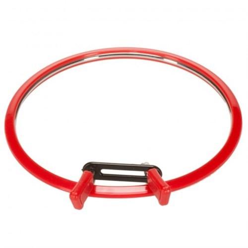 Nurge Kırmızı Orta Metal Nakış Kasnağı