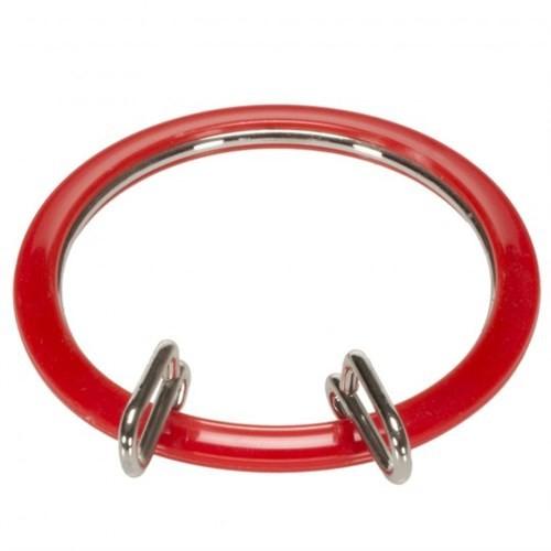 Nurge Kırmızı Küçük Metal Nakış Kasnağı