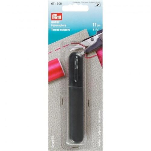 Prym 11 Cm Siyah Kapaklı İplik Kesici - 611505