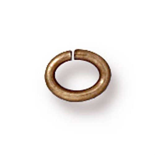 Tierra Cast 25 Adet Altın Rengi Oval Takı Halkası - 01-0016-27