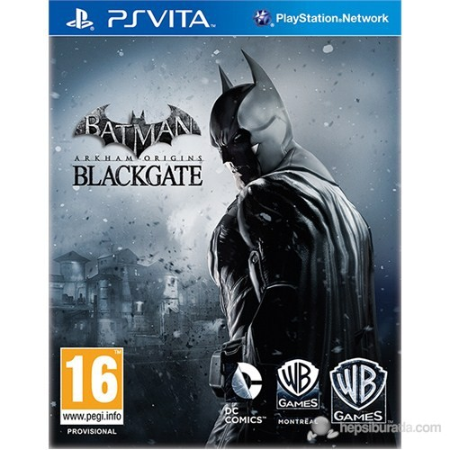 Batman Arkham Origins Limited Edition PsVita