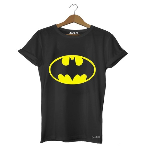 Dyetee Batman Klasik Erkek T-Shirt