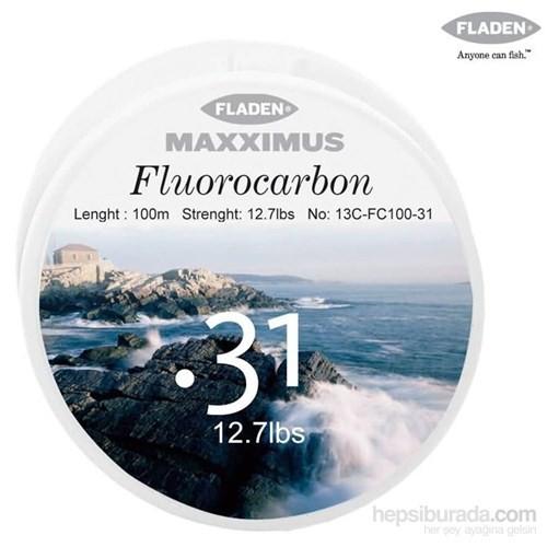 Fladen Maxxımus Fluocarbon 100Mt. - 0,31Mm.