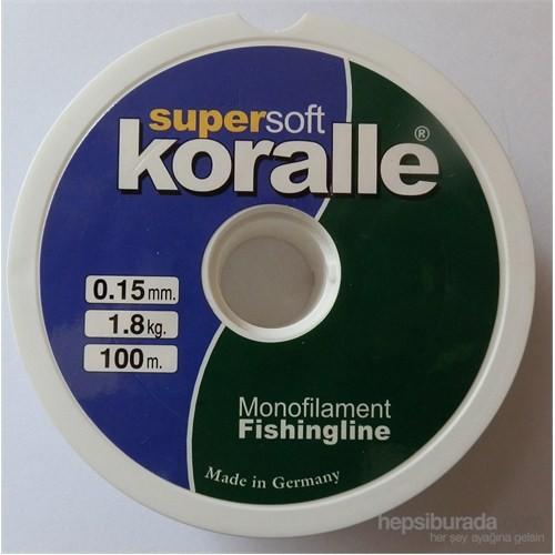 Koralle Supersoft Mono Misina 100Mt.-0,15Mm