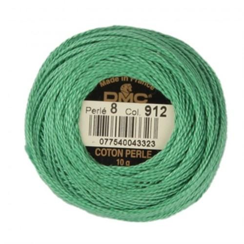 Dmc Koton Perle Yumak 10 Gr Yeşil No:8 - 912