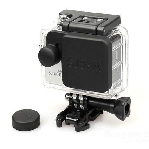 Knmaster Sjcam Sj4000 Housing Lens Koruyucu + Kamera Lens Koruyucu