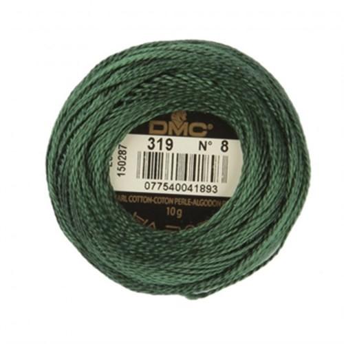 Dmc Koton Perle Yumak 10 Gr Yeşil No:8 - 319