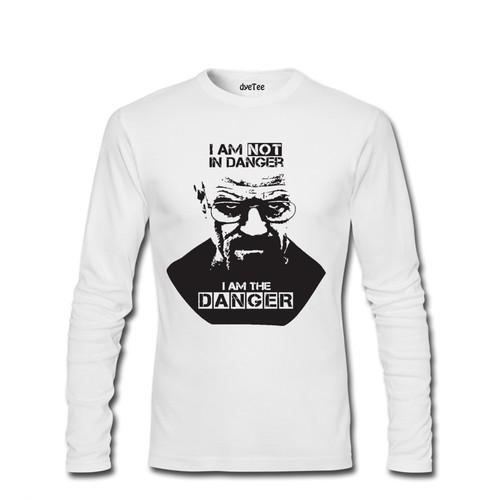 Dyetee I M The Danger Erkek T-Shirt