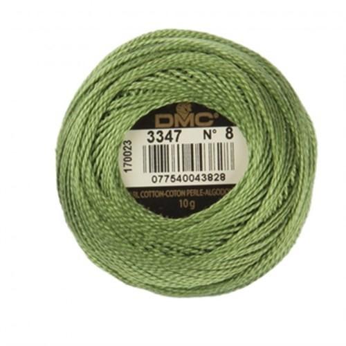 Dmc Koton Perle Yumak 10 Gr Yeşil No:8 - 3347