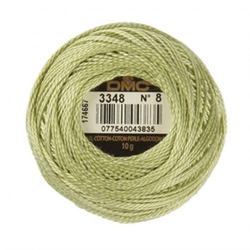 Dmc Koton Perle Yumak 10 Gr Yeşil No:8 - 3348