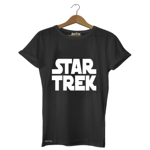 Dyetee Startrek Klasik Erkek T-Shirt