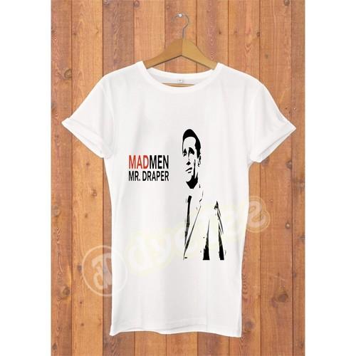 Dyetee Mr Draper Erkek T-Shirt