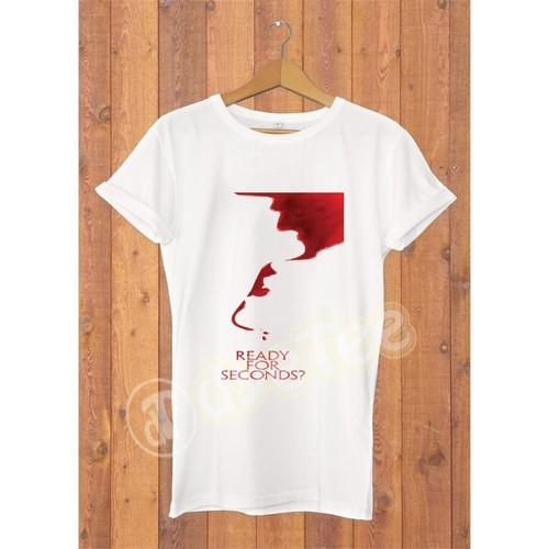 Dyetee Blood Erkek T-Shirt