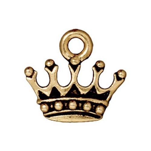 Tierra Cast 1 Adet 13.5X14.75 Mm Altın Rengi Kral Tacı Takı Aksesuarı - 94-2279-26