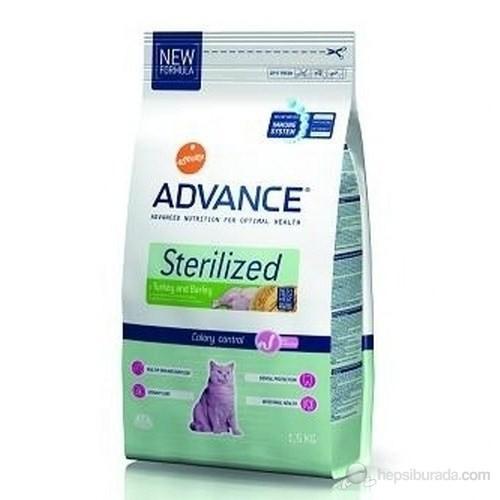 Advance Cat Sterilized Hindili Kısırlaştırılmış Yetişkin Kedi Maması 1,5 Kg
