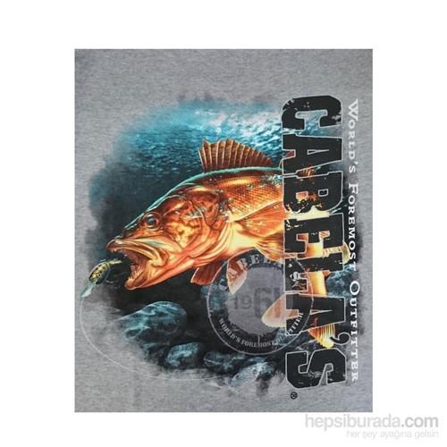 Cabela's Legend Balık Baskılı T-Shirt