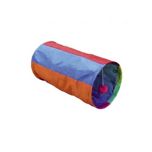 Nobby Rainbow Renkli Kedi Tüneli Ø25 X 50 Cm