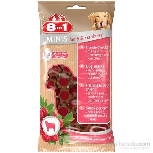 8İn1 Mınıs Lamb&Cranberry 100 Gr Köpek Ödülü (Kuzulu&Vişneli)