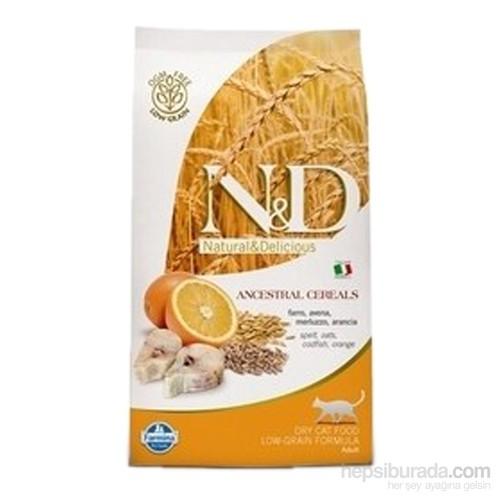 N&D Natural Delicious Düşük Tahıllı Morina Balıklı Portakallı Küçük Irk Köpek Maması 2,5 Kg