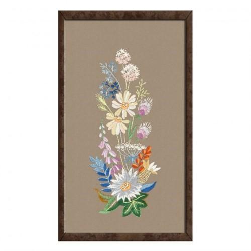 Duftin 40X50 Çiçek Desenli Tablo Çin İğnesi Nakış Kiti - 14335-Aa0992