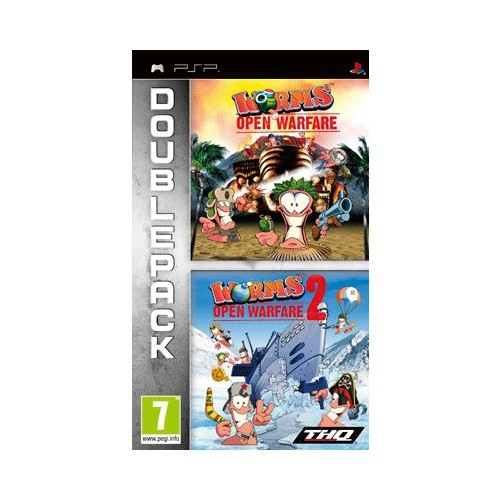 Worms + Worms 2 Psp