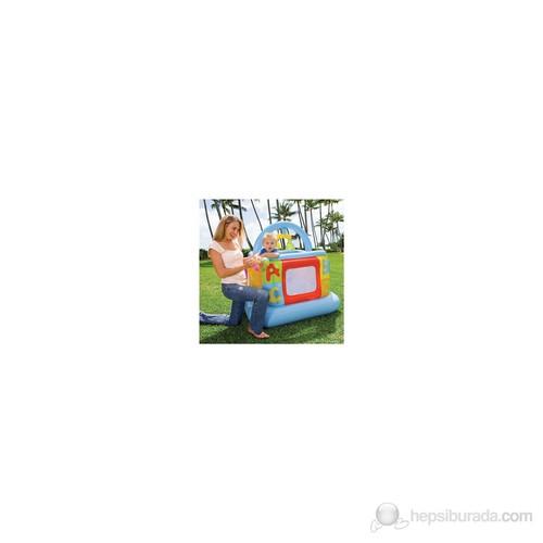 İntex Yumuşak Tabanlı Bebek Oyun Parkı (117x117x117CM)