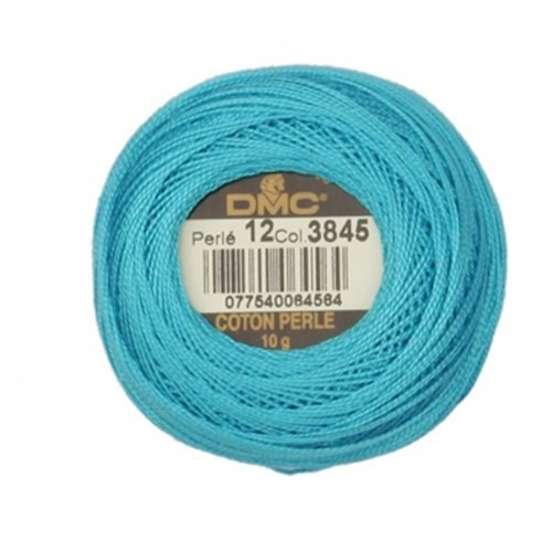 Dmc Koton Perle Yumak 10 Gr Mavi No:12 - 3845