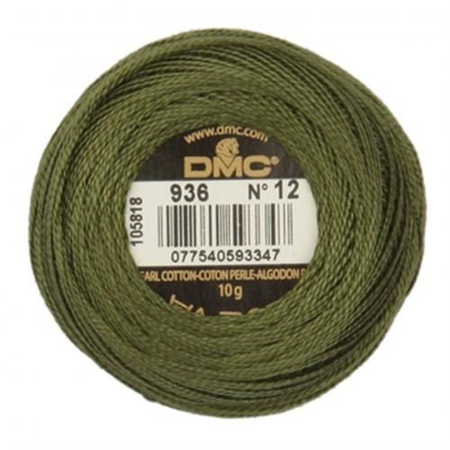 Dmc Koton Perle Yumak 10 Gr Yeşil No:12 - 936