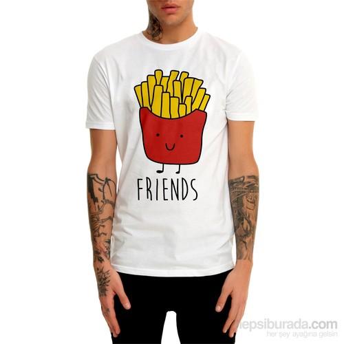 Köstebek Friends Et655 Erkek T-Shirt