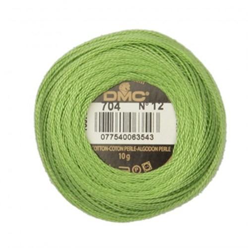 Dmc Koton Perle Yumak 10 Gr Yeşil No:12 - 704