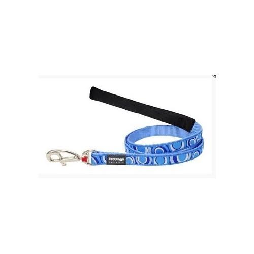 Reddingo Circadelic Desenli Mavi Uzatma Köpek Tasması 15 Mm