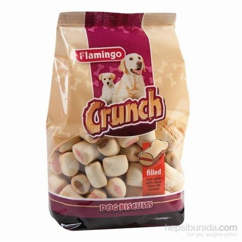 Karlie-Flamingo Crunch Bisküvi Crockies 500Gr