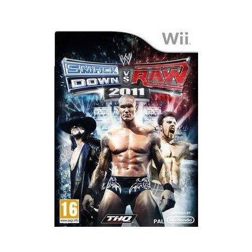Nintendo OYUN Wii Smackdown vs Raw 2011