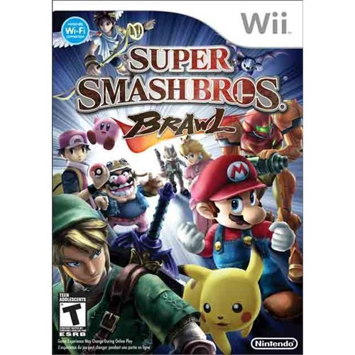 Wii Super Smash Bros