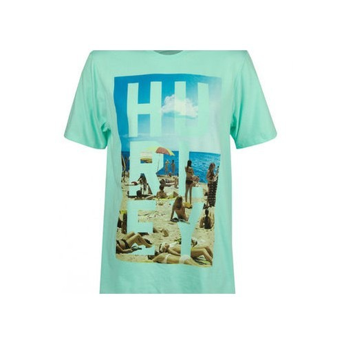 Hurley Kickin It Prem Shor In Premium Fit Erkek T-Shirt