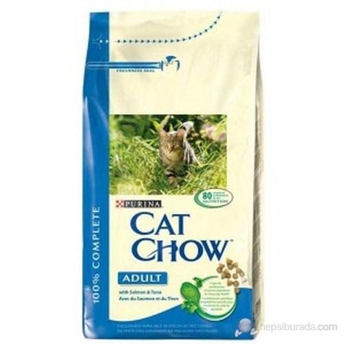 Purina Cat Chow Somon Balıklı Kuru Kedi Maması 15 Kg
