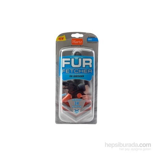 Hartz Fur Fetcher Çift Mikro Uçlu Tüy Toplama Tarağı 19 Cm
