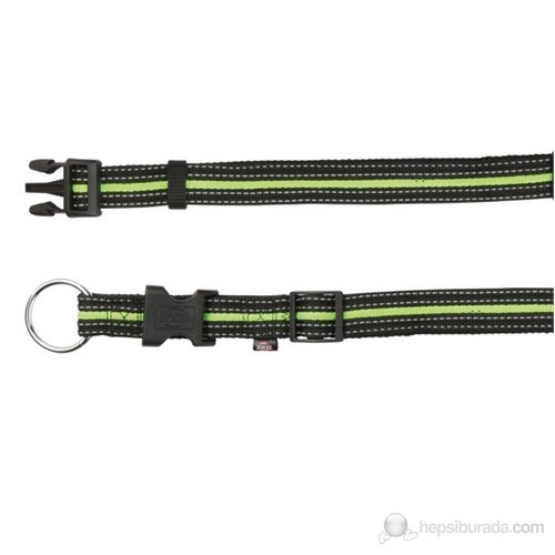 Trixie Köpek Boyun Tasma S-M,30-45Cm/17Mm Siyah/Yeşil