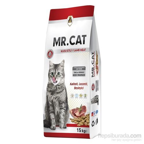 Mr.Cat Tavuklu Kedi Maması 15 Kg.